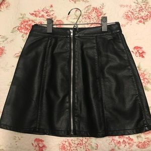 Forever 21 faux leather skirt.